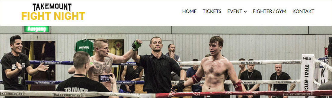 FIGHT NIGHT Homepage erstellung Darmstadt